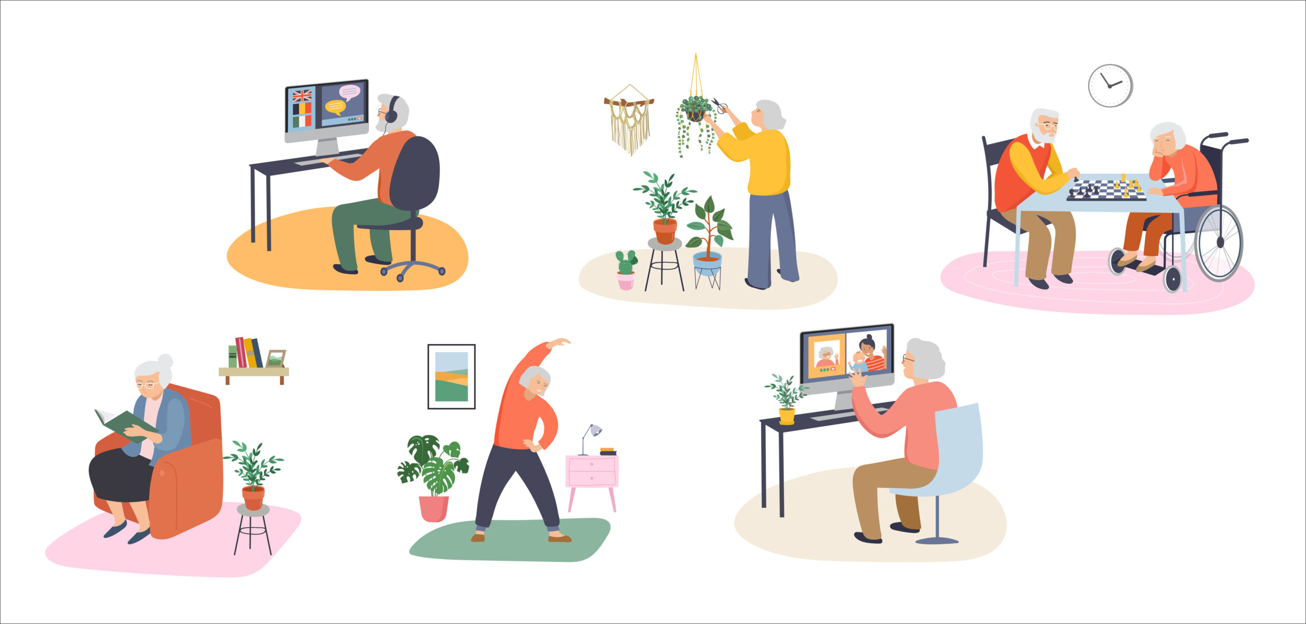 Activities of Daily Living for Seniors