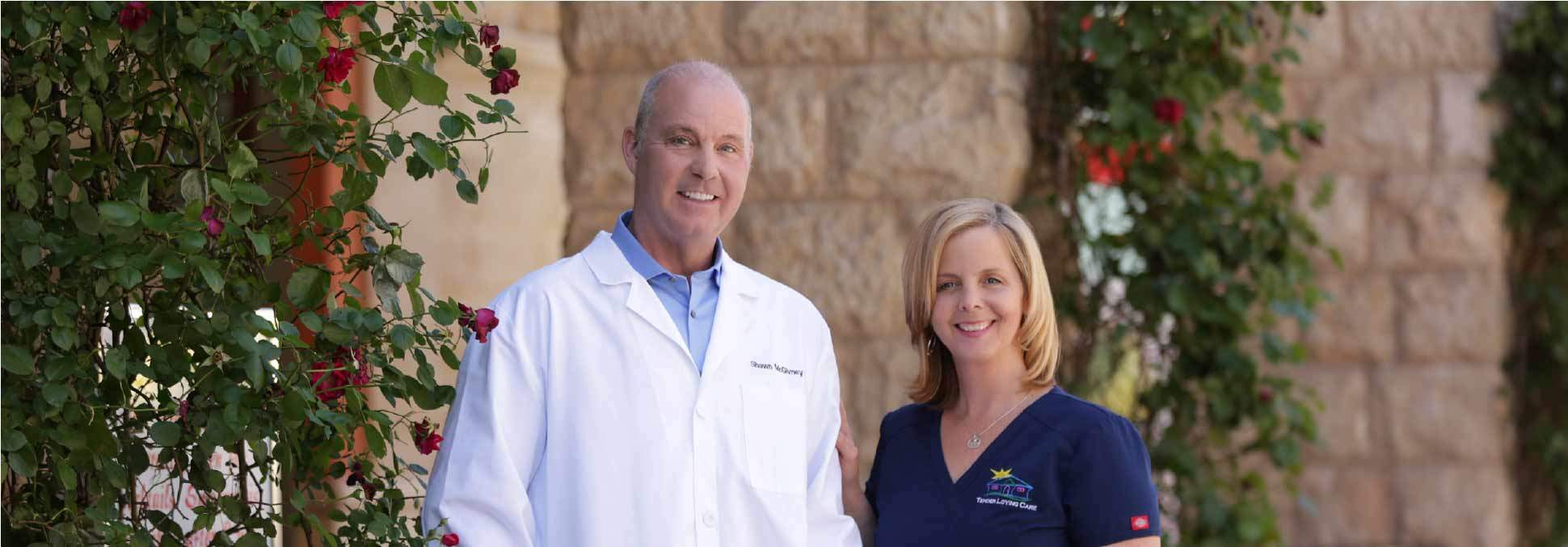 Dr Shawn McGivney and Kerry McGivney, RN